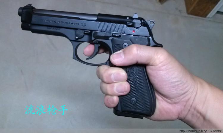 绝对惊人的伯莱塔9毫米美军标准制式M9手枪 - 流浪枪手 - 流浪枪手的驿站