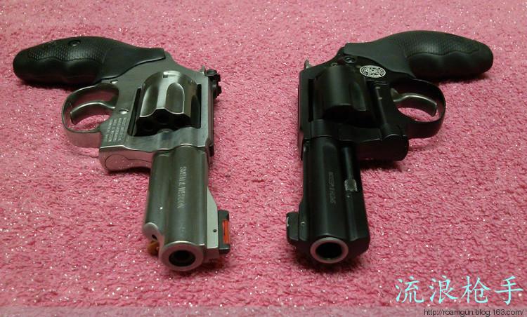 斯文轻巧的防身利器,SW 360便携左轮枪 - 流浪枪手 - 流浪枪手的驿站