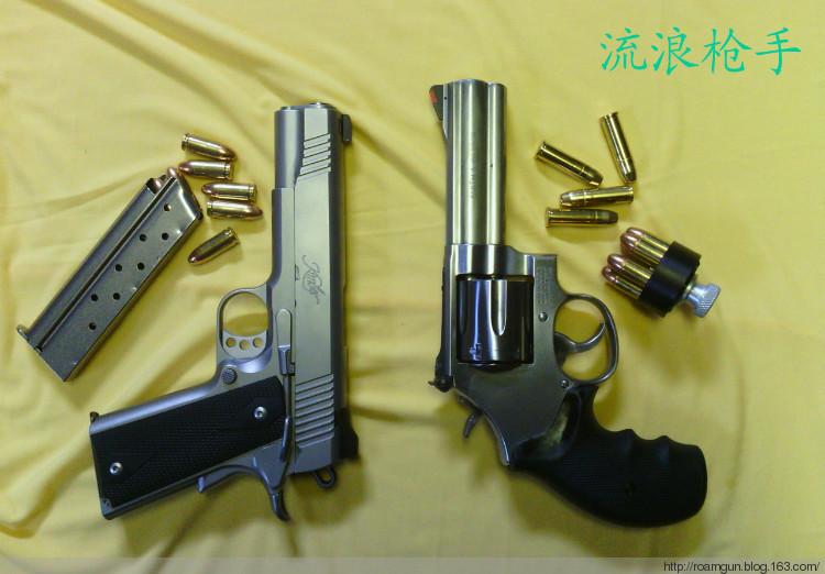 绅士和牛仔--自动手枪和左轮的比较 - 流浪枪手 - 流浪枪手的驿站