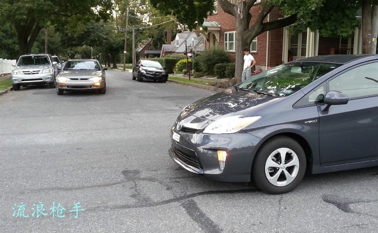 洋车出洋相,靠骡拉(Corolla)撞上玻璃纸(Prius) - 流浪枪手 - 流浪枪手的驿站